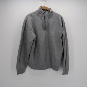 GAP 1/4 Zip Mock Neck Long Sleeve Pullover Jacket